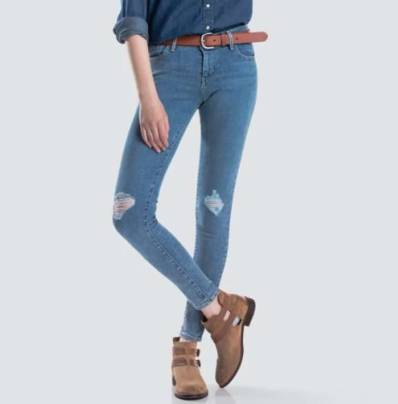 Celana Jeans Levis 710 Super Skinny Buena